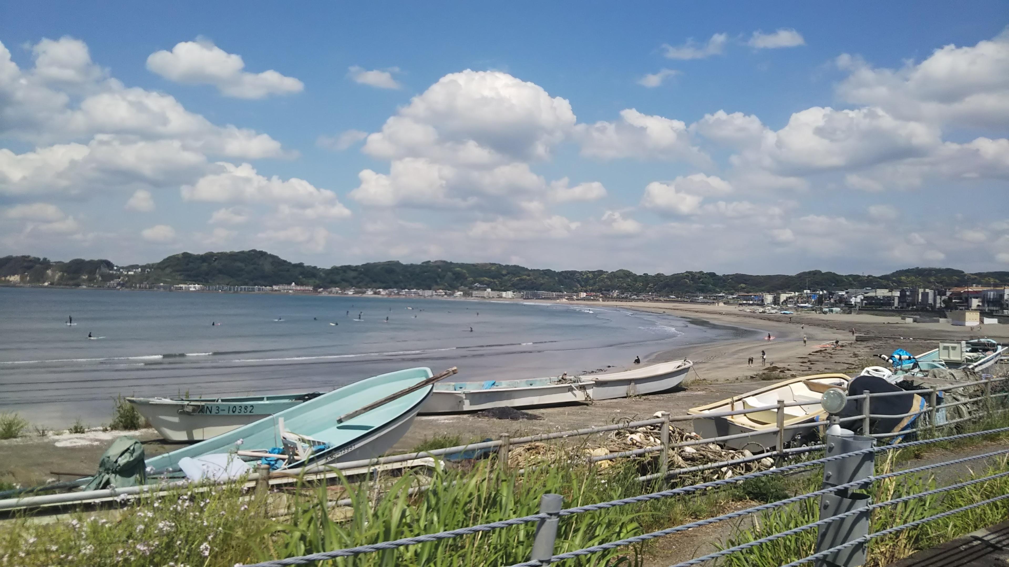 鎌倉の青い空