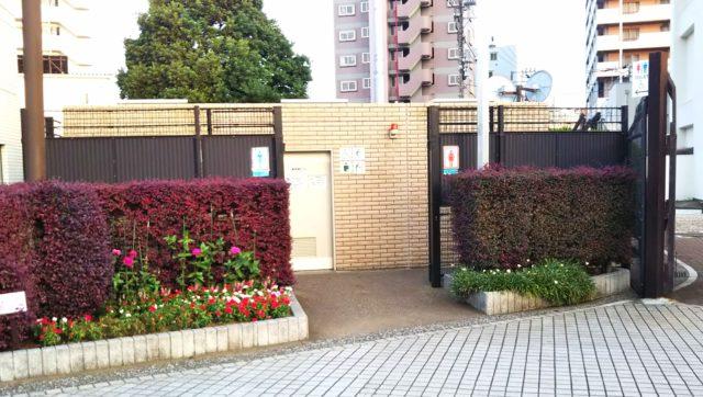 三笠公園公衆トイレ