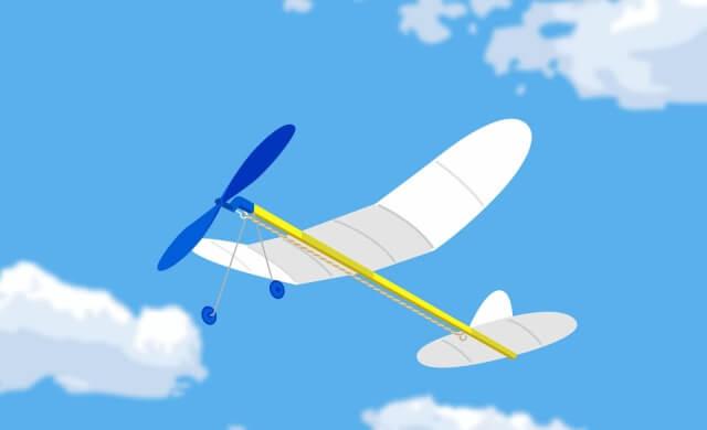 ゴム飛行機