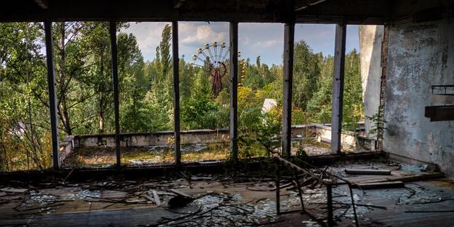 チェルノブイリの遊園地