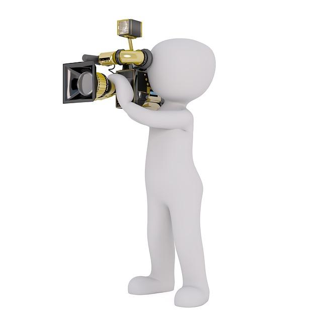 映像化するカメラマン