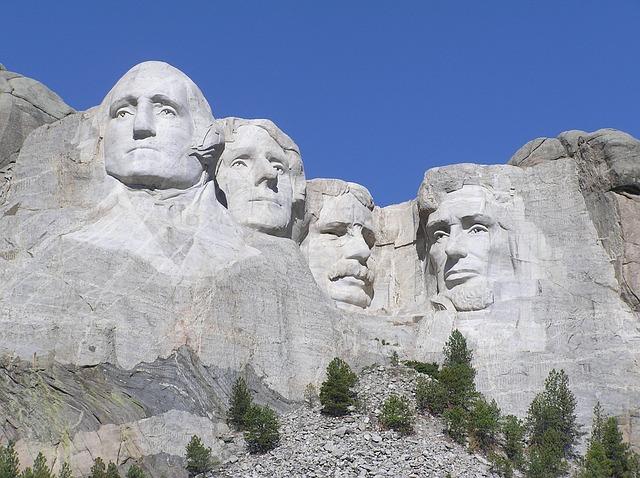 ラシュモア山の大統領たち