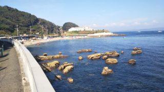 観音崎の南側のたたら浜