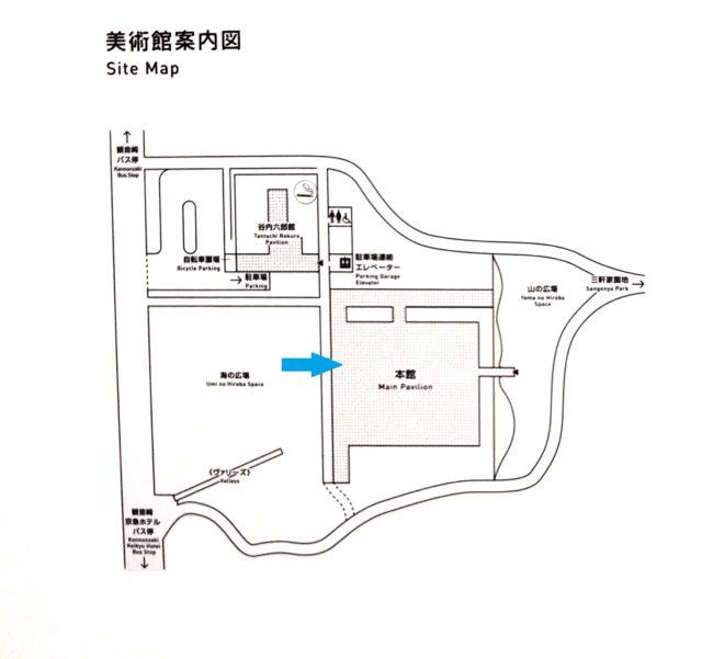 美術館地図