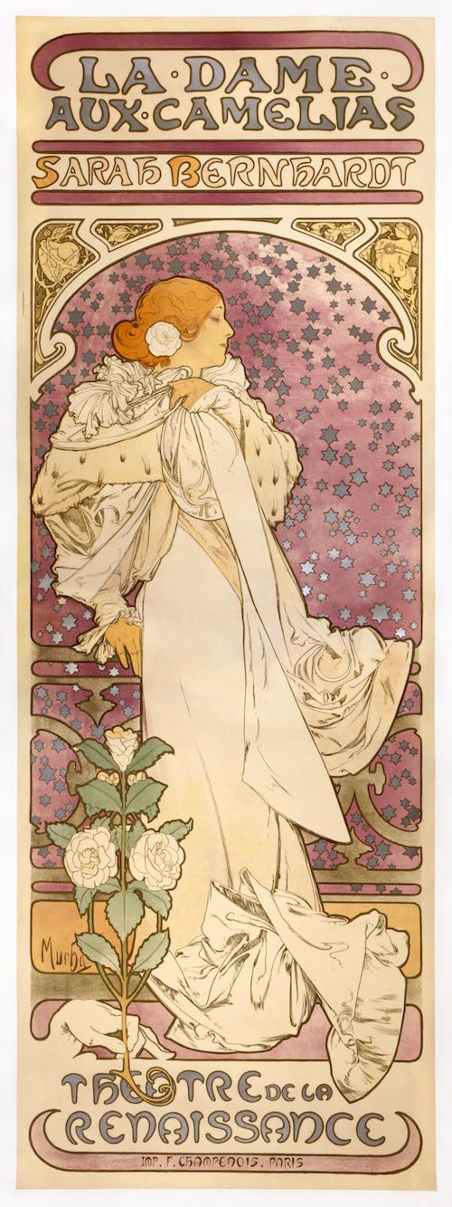 ミュシャ「椿姫」