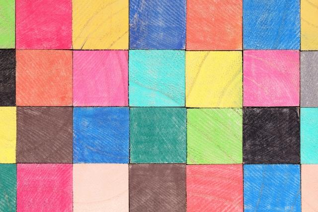 タスクを並べるイメージの積み木