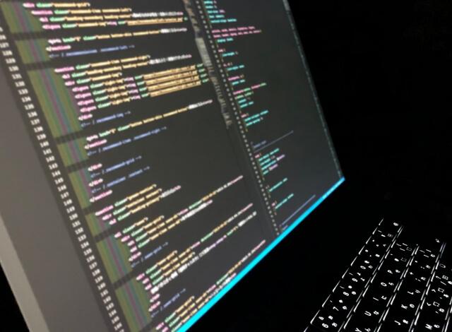 コードの画面