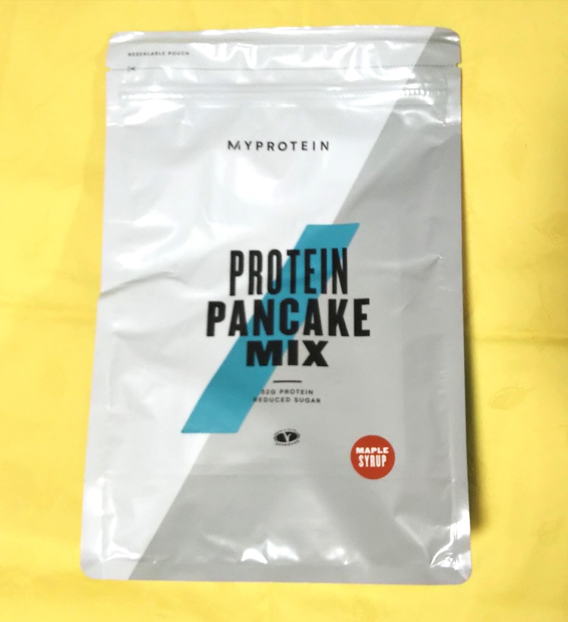 プロテインパンケーキミックス メープルシロップ味