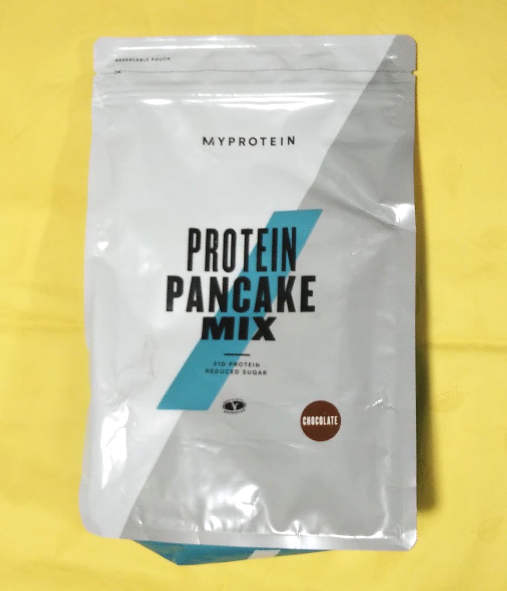 プロテインパンケーキミックス チョコレート味