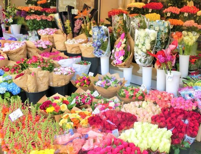 春の花屋さん