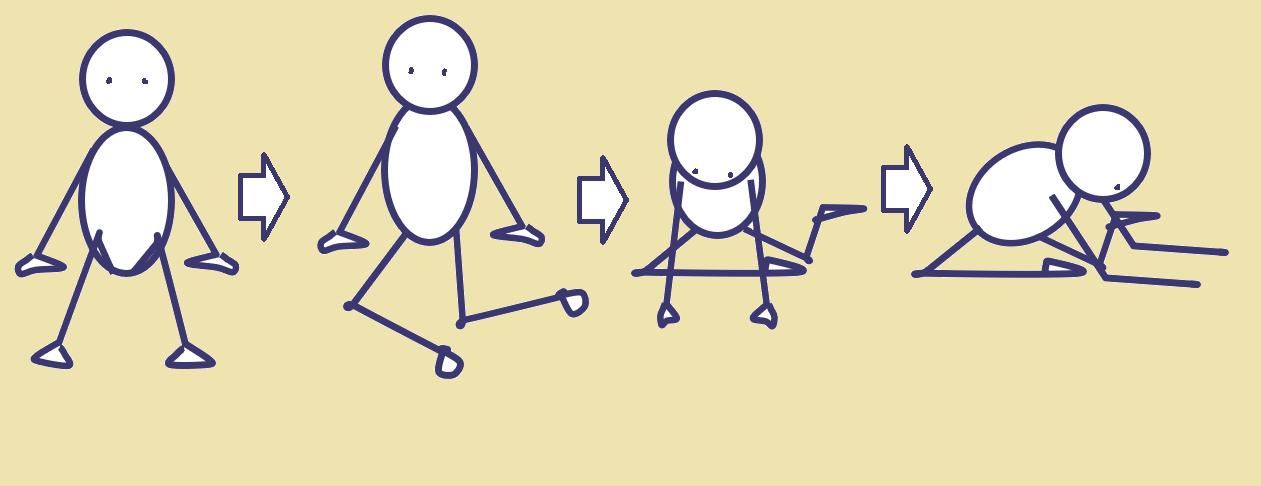 股関節を柔軟にする前屈