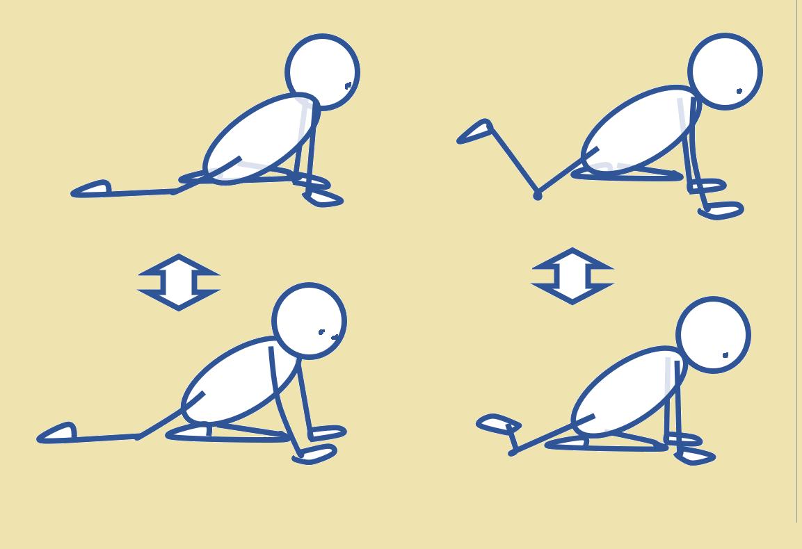股関節のつまり感を解消する運動